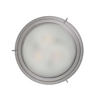 Quoizel Lighting Signature 3 Light Flush Mount in Brushed Nickel QF1210SBN alternative photo thumbnail