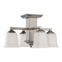 Quoizel QF1213SBN Signature 4 Light 19 inch Brushed Nickel Semi-Flush Mount Ceiling Light alternative photo thumbnail