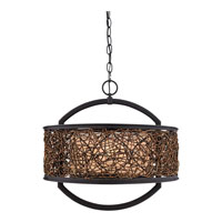 Quoizel Lighting Signature 2 Light Pendant in Serengeti QF1216CSN photo thumbnail