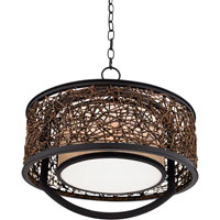 Quoizel Lighting Signature 2 Light Pendant in Serengeti QF1216CSN alternative photo thumbnail