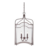 Quoizel Lighting Signature 4 Light Chandelier in Copper Rustic Antique QF1403CRA alternative photo thumbnail