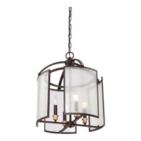 Quoizel Lighting Signature 4 Light Chandelier in Western Bronze QF1680WT