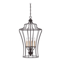 Quoizel Lighting Signature 4 Light Chandelier in Western Bronze QF1685WT