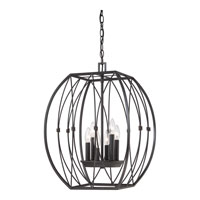 Quoizel Lighting Signature 6 Light Chandelier in Imperial Bronze QF1687IB