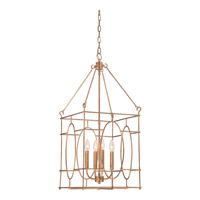 Quoizel Signature 4 Light Foyer Chandelier in Warm Gold QF1821WMG