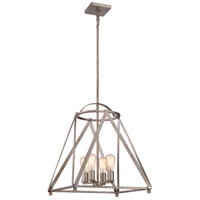 Quoizel QF1829VG Signature 4 Light 19 inch Vintage Gold Foyer Chandelier Ceiling Light