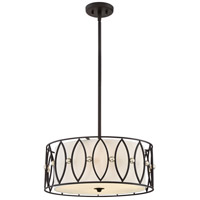 Gateway 4 Light 20 inch Mystic Black Pendant Ceiling Light