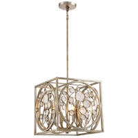 Artistry 4 Light 14 inch Vintage Gold Pendant Ceiling Light