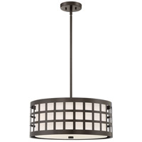 Quoizel QF3400WT Signature 5 Light 22 inch Western Bronze Pendant Ceiling Light