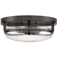 Signature 3 Light 15 inch palladian bronze Flush Mount Ceiling Light