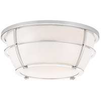 Signature 2 Light 13 inch Polished Chrome Flush Mount Ceiling Light