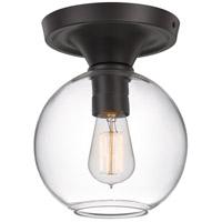 Quoizel QF4058OZ Hawley 1 Light 8 inch Old Bronze Semi-Flush Mount Ceiling Light