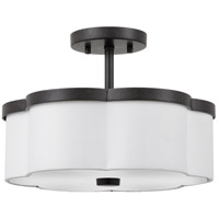 Hydra 3 Light 14 inch Imperial Bronze Semi-Flush Mount Ceiling Light