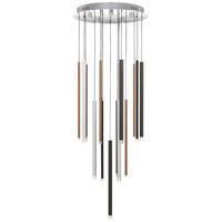 Quoizel QF4067C Henning LED 20 inch Polished Chrome Pendant Ceiling Light