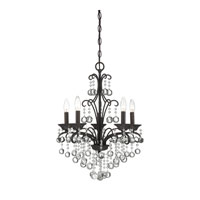 Quoizel Lighting Signature 5 Light Mini Chandelier in French Bronze QMC1199FR