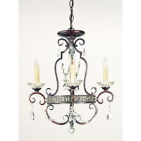 Quoizel Lighting Signature 4 Light Mini Chandelier in Royal Bronze QMC402RL