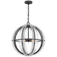 Quoizel QOP5179MBK Dre 4 Light 22 inch Matte Black Pendant Ceiling Light