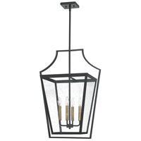 Quoizel QOP5264OZ Quoizel Oversized 4 Light 21 inch Old Bronze Foyer Pendant Ceiling Light