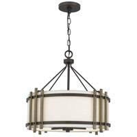Quoizel QOP5270IN Quoizel Oversized 4 Light 20 inch Iron Gate Pendant Ceiling Light