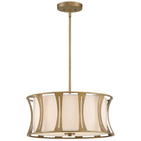 Quoizel QP5187EY Woodmere 4 Light 20 inch Egyptian Gold Pendant Ceiling Light