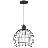Quoizel QP5189MBK Whitman 1 Light 12 inch Matte Black Mini Pendant Ceiling Light
