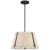 Quoizel QP5190MC Amherst 3 Light 19 inch Mottled Cocoa Pendant Ceiling Light