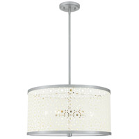 Quoizel QP5262BN Quoizel 5 Light 19 inch Brushed Nickel Pendant Ceiling Light