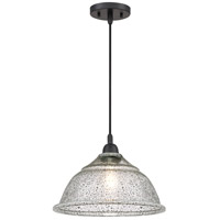 Quoizel QPP2817K Piccolo 1 Light 13 inch Mystic Black Mini Pendant Ceiling Light, Cord Hung