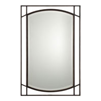 Quoizel QR1175PN Signature 32 X 24 inch Palladian Bronze Wall Mirror Home Decor photo thumbnail