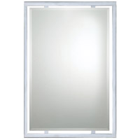 Quoizel QR1221C Reflections 32 X 22 inch Polished Chrome Wall Mirror