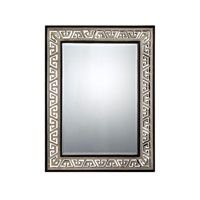 Quoizel Lighting Signature Mirror in Silver and Black QR1251