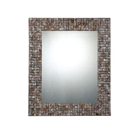 Quoizel Lighting Signature Mirror in Pen Shell Mosaic QR1252