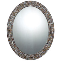 Quoizel QR1253 Reflections 30 X 24 inch Pen Shell Mosaic Wall Mirror