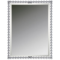 Reflections 33 X 26 inch Polished Chrome Wall Mirror Home Decor