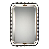 Reflections 38 X 25 inch Western Bronze Mirror Home Decor