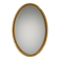 Hearst 31 X 21 inch Gold Leaf Mirror Home Decor