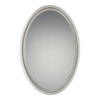 Hearst 31 X 21 inch Silver Leaf Mirror Home Decor