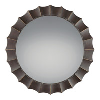 Finn 42 X 42 inch Palladian Bronze Mirror Home Decor