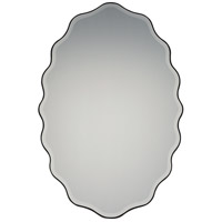 Quoizel QR2795 Reflections 30 X 20 inch Black Wall Mirror