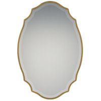 Monarch 36 X 24 inch Gold Mirror Home Decor