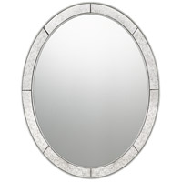 Quoizel QR3335 Reflections 28 X 22 inch Silver Leaf Mirror Home Decor