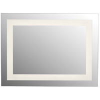 Quoizel QR3697 Intensity 32 X 24 inch Nickel Mirror, Large