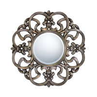Quoizel Lighting Signature Mirror in Burnt Silver QR979