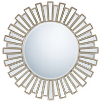 Quoizel Lighting Signature Mirror in Antique Silver QR983
