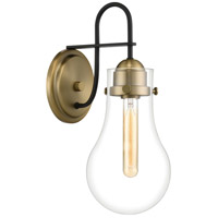 Quoizel QW4065WS Winstead 1 Light 7 inch Weathered Brass Wall Sconce Wall Light