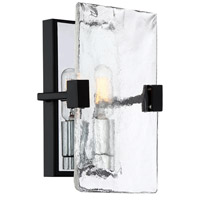 Quoizel QW4068EK Herriman 1 Light 6 inch Earth Black Wall Sconce Wall Light