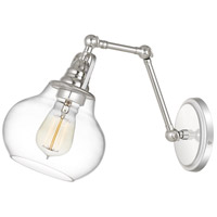 Quoizel QW4070PK Elmdale 1 Light 7 inch Polished Nickel Wall Sconce Wall Light