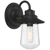 Quoizel RAD8405MBK Radford 1 Light 8 inch Matte Black Outdoor Wall Lantern
