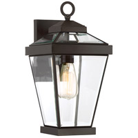 Quoizel RAV8408WT Ravine 1 Light 16 inch Western Bronze Outdoor Wall Lantern