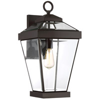 Quoizel RAV8410WT Ravine 1 Light 20 inch Western Bronze Outdoor Wall Lantern